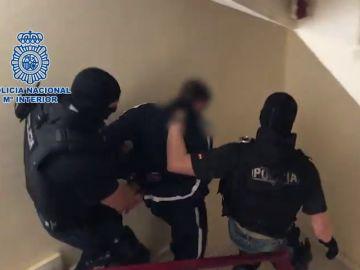 Primeras imágenes de la detención del presunto autor del crimen de Joshua