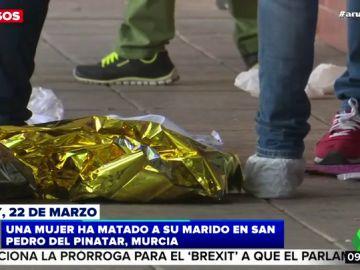 Detenida una mujer por matar a su pareja en Murcia: alega que se defendía de una agresión