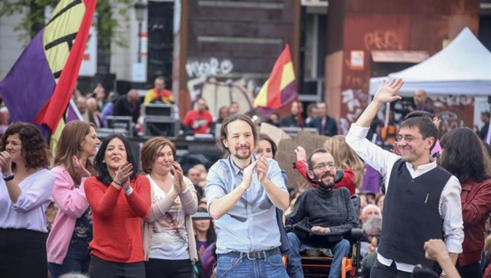 Pablo Iglesias vuelve tras su baja de paternidad