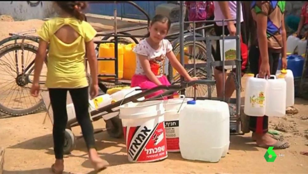 El uso del agua potable como arma de guerra hará que Gaza sea inhabitable en 2020