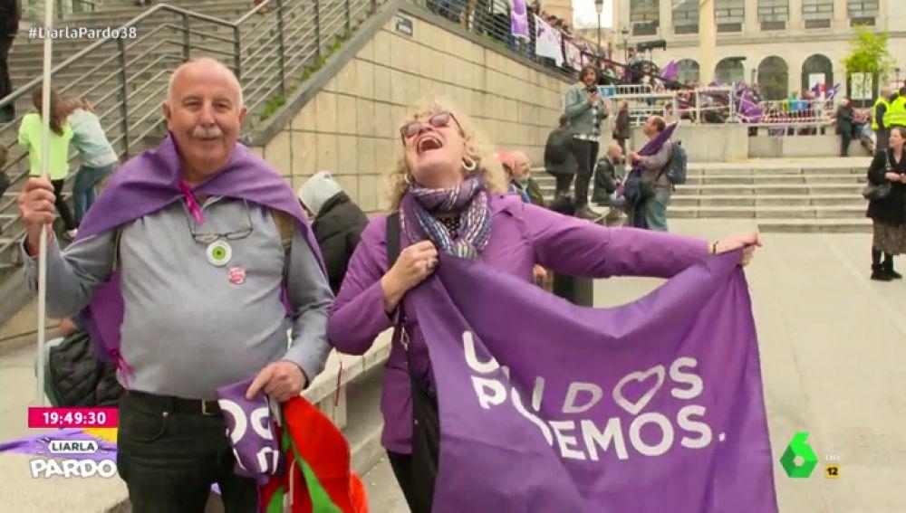 Luis Troya se cuela en el regreso de 'El Rey León' de Podemos
