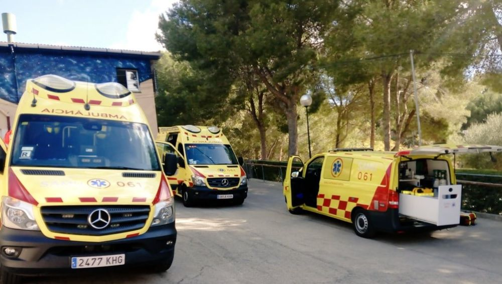 Ambulancias del SAMU061 IllesBalears