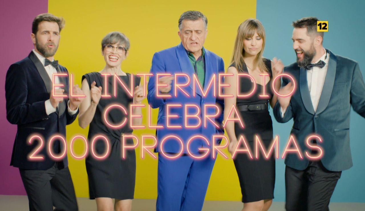 El Intermedio celebra 2.000 programas