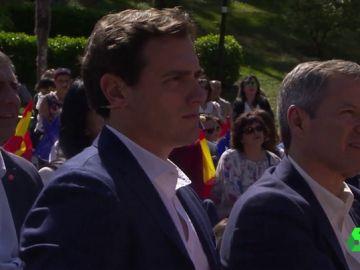 Albert Rivera en un acto en Zaragoza