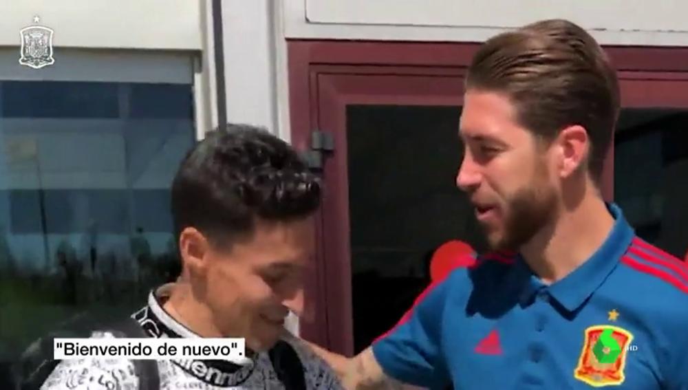 """Jesús Navas, sobre su 'hermano' Sergio Ramos: """"Vivimos tantos momentos juntos que nos ayudamos el uno al otro"""""""