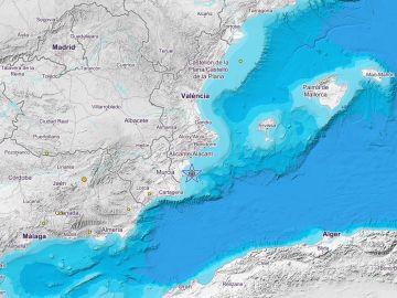 Epicentro del terremoto de Alicante