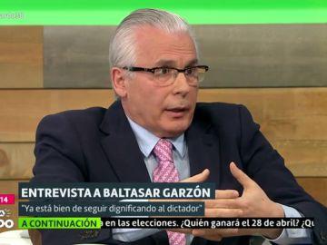 Baltasar Garzón defiende la exhumación de Franco