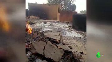 Una etnia maliense asesina a 135 personas de un poblado tras rodear y quemar sus viviendas