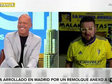 """El mensaje de Toni Rodríguez a Alfonso Arús: """"Tienes que estar contento porque los hombres calvos atraen más a las mujeres"""""""