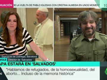 Jordi Évole desvela en Más Vale Tarde la única pregunta que el Papa no quiso contestar en Salvados