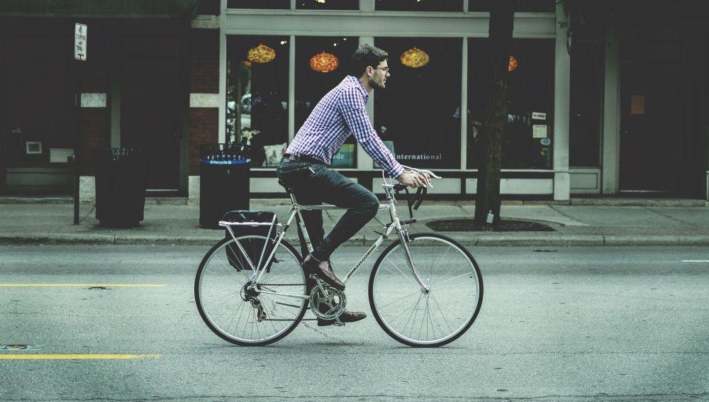 Ir en bici por la ciudad