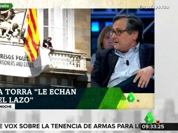 """El 'dardo' de Paco Marhuenda a Quim Torra: """"Tiene un coeficiente intelectual más bajo que mi perra Lolita"""""""