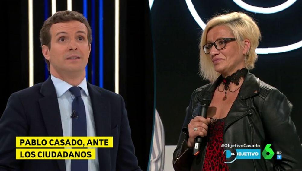 El encontronazo entre Pablo Casado e Irene Condal, catalana