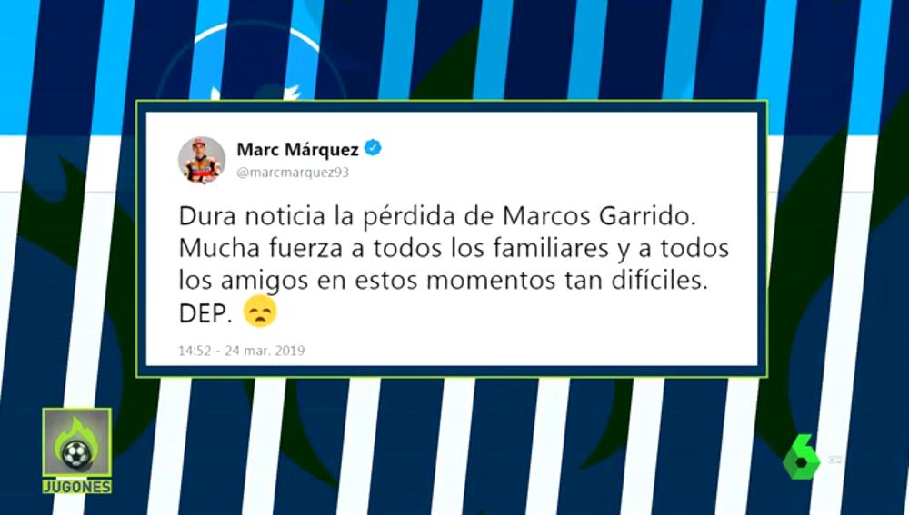 El mundo del deporte lamenta la muerte del joven piloto Marcos Garrido