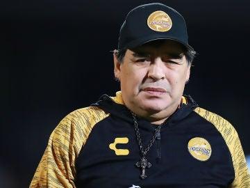 Diego Armando Maradona, entrenador del Dorados