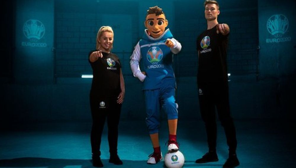 Skillzy, mascota de la Eurocopa 2020