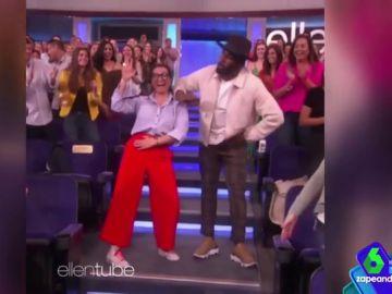 EEUU ya conoce a Silvia Abril: así es su divertido baile en 'El show de Ellen Degeneres'