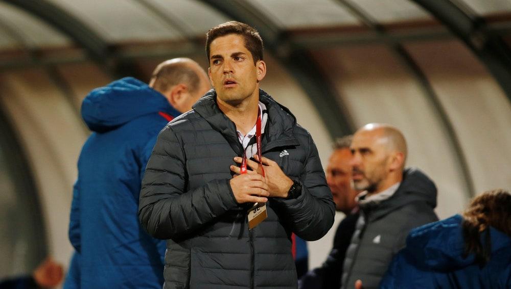 Robert Moreno, el segundo de Luis Enrique en la Selección