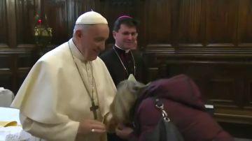 La 'cobra' del papa Francisco
