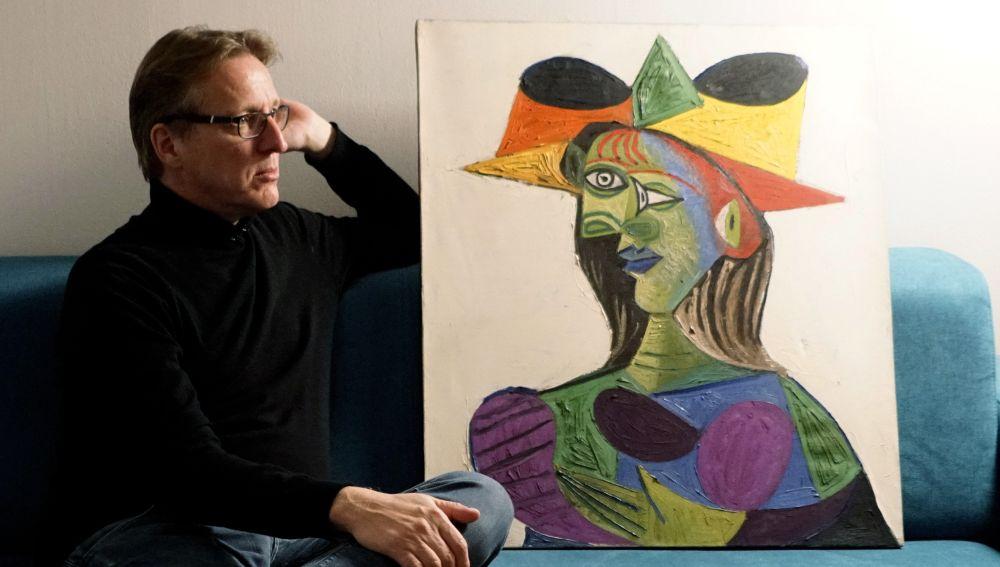 Arthur Brand con el Picasso robado