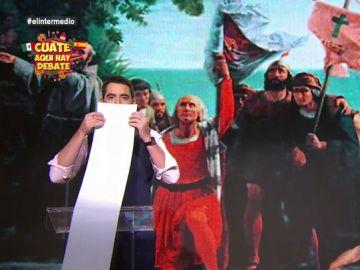 """Dani Mateo se disculpa con """"la breve lista de países que ha invadido España en algún momento de su historia"""""""