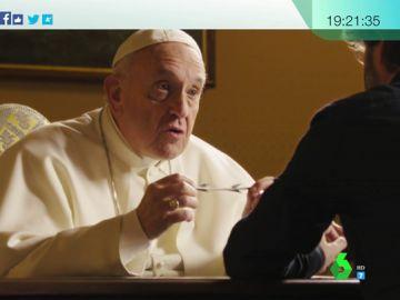"""El papa responde a Évole sobre las concertinas: """"Es tan la inconsciencia que parece lo más natural. Nos hemos acostumbrado a esto"""""""