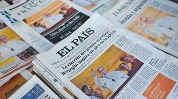 Portadas de periódicos el primer día del pontificado de Francisco.