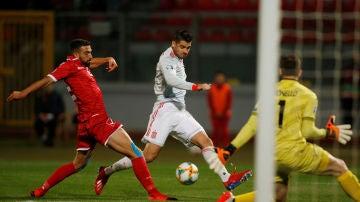 Gol de Morata a Malta