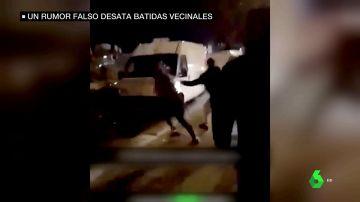 Decenas de franceses realizan batidas contra hombres de etnia romaní tras difundir que traficaban con menores
