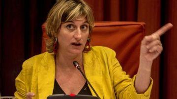 Alba Vergès, consellera de Salud de la Generalitat