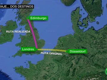 El surrealista lío de British Airways: manda a Edimburgo un avión con pasajeros que iban a Düsseldorf