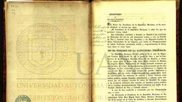 Tratado Definitivo de Paz y Amistad entre la República Mexicana y S.M.C. la Reina Gobernadora de España
