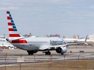 Un avión de la compañía Southwest Airlines