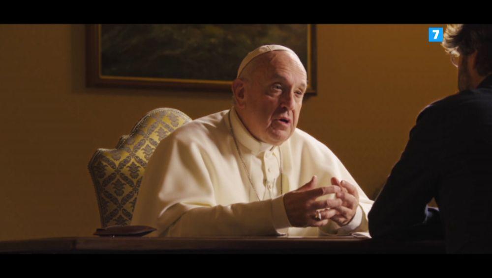 El papa Francisco, en Salvados