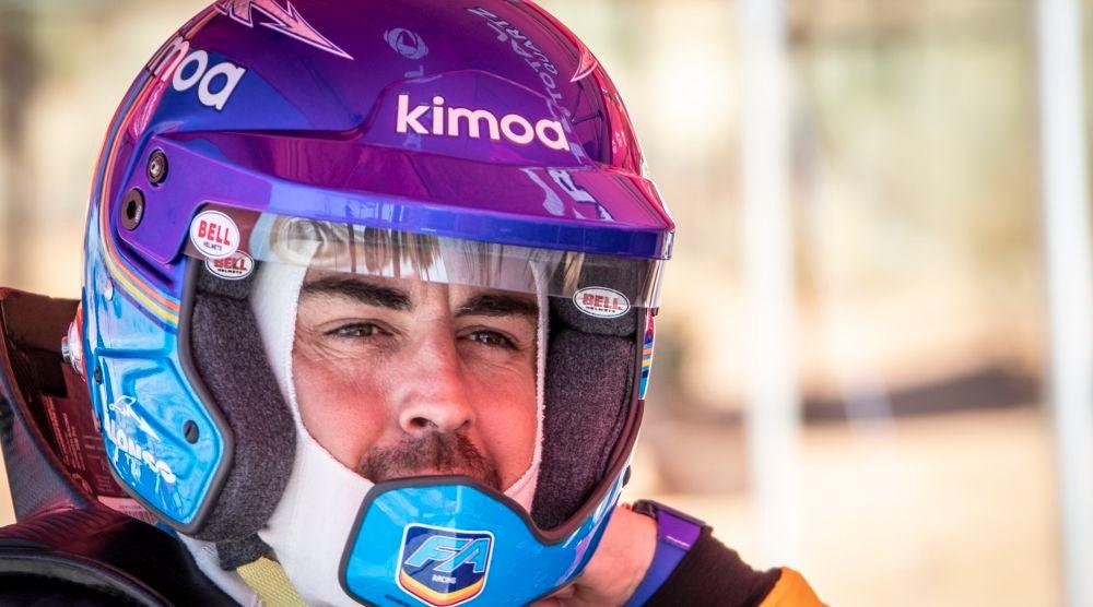Oficial: Fernando Alonso y las miras en el Dakar 2020 con Toyota