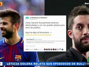 """El 'zasca' de Broncano a Piqué por autoinvitarse a su programa: """"No nos quedan plazas para venir de público"""""""