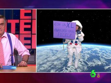 """La reivindicación de Thais Villas """"desde el espacio"""" en una misión """"histórica"""": """"Con la XL parezco una pelele"""""""