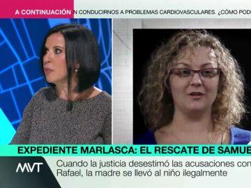 A qué delitos podría enfrentarse María Sevilla, presidenta de Infancia Libre, tras el secuestro de su hijo