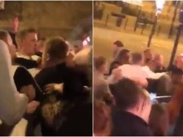 Pickford, involucrado en una pelea en un bar inglés