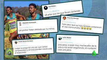 ¿Realmente tienen 18 años? Sorpresa por la supuesta edad de dos etíopes en el Mundial sub-20 de cross