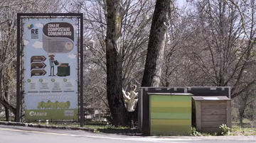 Compostaje comunitario en Allariz (Ourense)