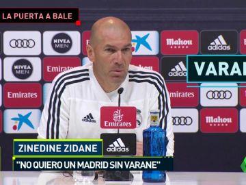 Zidane le abre la puerta a Bale y se la cierra a Varane