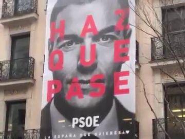 'Haz que pase', el PSOE presenta su lema para la campaña de las generales