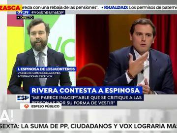 El machista mensaje de Espinosa de los Monteros a las políticas de Ciudadanos