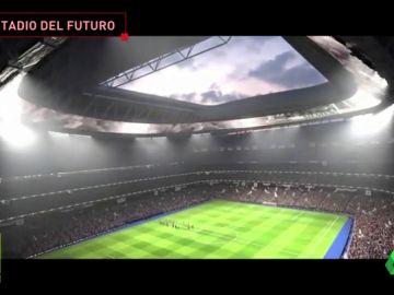 Espectacular: así será el nuevo Santiago Bernabéu con cubierta retráctil