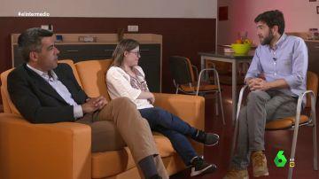Gloria Ramos, Roberto Sánchez y Gonzo