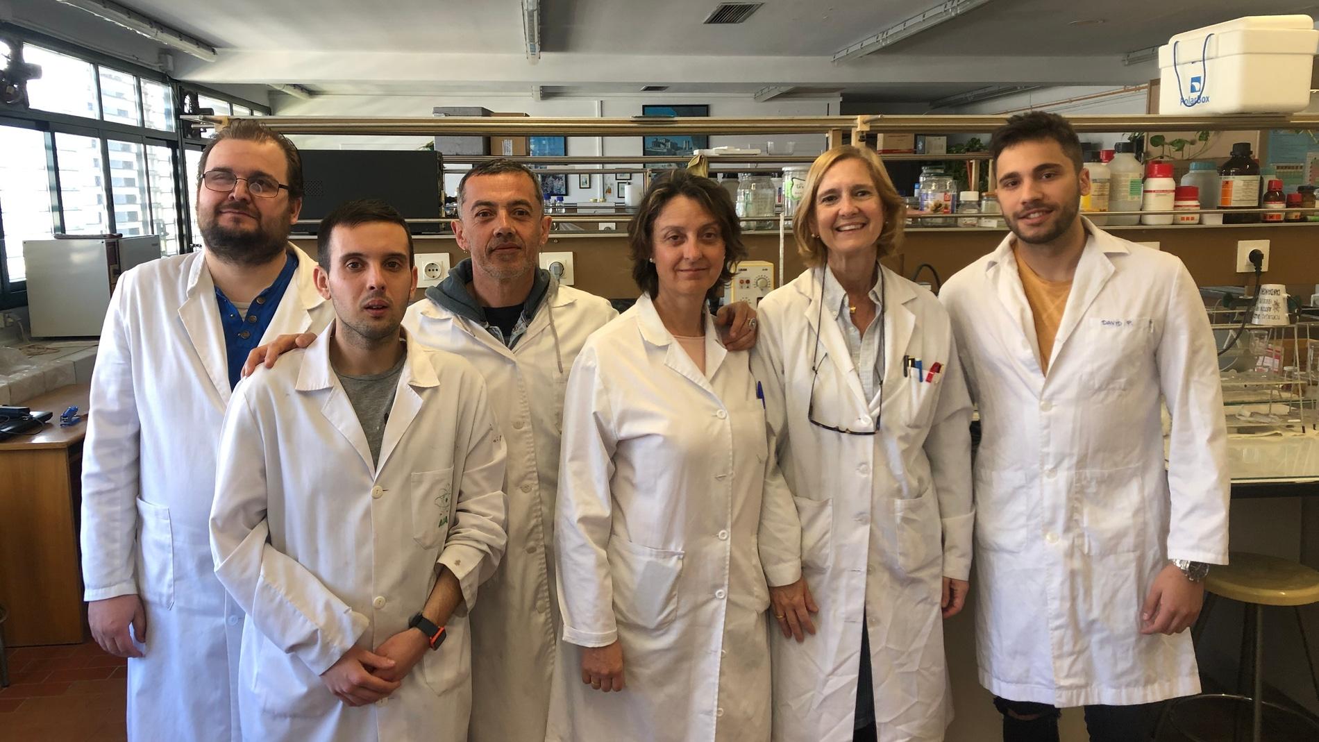 Nanoesferas para disminuir los efectos secundarios de un antibiotico