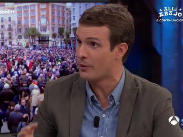 Pablo Casado, líder del PP, en El Hormiguero