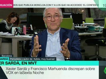 """Javier Sardá: """"¿No dice Vox lo que opina abiertamente? Pues yo digo que los de Vox son fachas"""""""