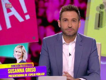 """Susanna Griso zanja su polémica sobre el """"puto desastre"""" que se le escapó en directo"""
